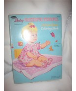 Baby Cheerful Tearful Doll Action Cover Rare Vintage Coloring Book Paper... - $24.95