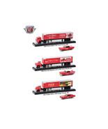 Auto Haulers Coca-Cola Release, 3 Trucks Set 1/64 Diecast Models by M2 M... - $102.94