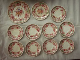 Johnson Brothers Dorchester saucers imperfect - $4.99