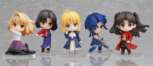 Nendoroid Petit: Fate Type-Moon Collection Mini Figure (Box of 12) Brand NEW!