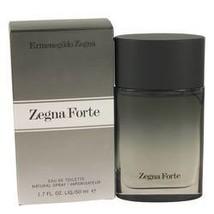 Zegna Forte Cologne By Ermenegildo Zegna 1.7 oz Eau De Toilette Spray For Men - $29.97