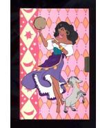 Esmeralda Vintage Gypsy Dancer Diary  - $5.00