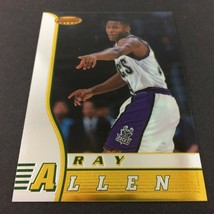 Ray Allen Rookie Card 1996-97 Bowman's Best #R5 NBA HOF Milwaukee Bucks ... - $5.89