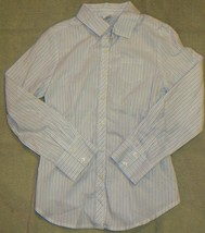 Gymboree Girl's Best Friend Fitted Striped Blouse Shirt Top Size 9 - $23.03