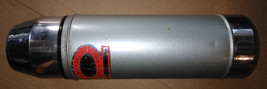 """8NN59  STAINLESS STEEL THERMOS, UNO-VAC, TESTS GOOD, 13"""" TALL +/-, GOOD ... - $14.73"""