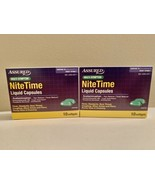 ASSURED Multi-Symptom NITE-TIME Liquid Capsules Compared to Vicks/Nyquil... - $7.91