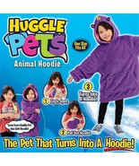 Kids Huggle Pets Hoodie Dinosaur Coat Warm Hooded Bathrobe Fleece Pullov... - £25.06 GBP