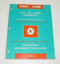 1993-1995 Chrysler Dodge 41TE / AE / F4AC1 Transaxle Service Manual - $11.83