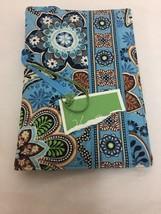 New Vera Bradley Bali Blue Paperback Book Cover Document Holder - ₨1,468.49 INR