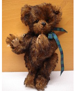 Made in USA, Artist Handmade, Collectible Teddy Bear, handcrafted, mohair - $59.99