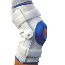 Knee Support Brace, Large Deluxe Comfortable Compression Hinged Knee Sup... - $29.98