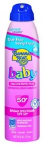 BANANA BOAT*6oz Spray Can BABY Sunscreen ULTRAMIST LOTION Broad Spectrum... - $10.87