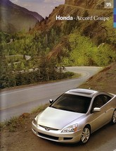 2005 Honda ACCORD COUPE sales brochure catalog 05 US - $7.00