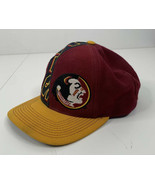 Vintage Florida State University FSU NOLES Adjustable Baseball Cap/Hat  A6 - $29.69