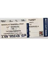 Las Vegas 51s vs Tacoma Rainiers Aug 30 2007 Ticket Stub Mandalay Baseba... - $6.95