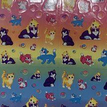 S673 S686 Lisa Frank Sticker Lot Sunflower Bubble Playtime Kittens Excellent image 3