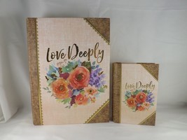 Ashland Book Keepsake Decorative Box - New - Love Deeply - $26.99