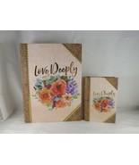 Ashland Book Keepsake Decorative Box - New - Love Deeply - $26.99