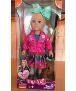 "My Life As JoJo Siwa With Plush Bow Bow 18"" Doll - $125.59"