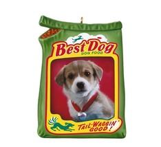 Best Dog 2012 Hallmark Photo Ornament Puppy Food Tail Waggin' Good! Play... - $8.85