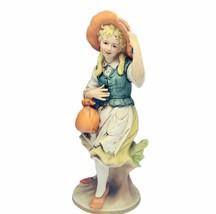 Morra figurine Italy porcelain statue sculpture decor 3170 girl antique ... - $120.77