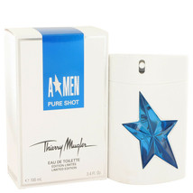 ANGEL A*MEN PURE SHOT Thierry Mugler 3.4 oz / 100 ml EDT Men NIB SEALED - $70.00