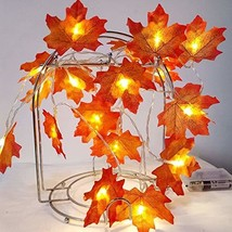 Sexyrobot Valentine's Day decoration,Maple Leaves Garland,Valentine's Day presen - $14.49