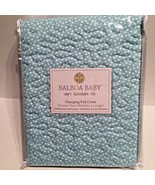 New Baby Changing Table Crib Pad Cover Teal Cotton Baby Nursery Bedding ... - $22.24