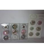 15 Bird and Paisley Glass Magnets Kitchen Art Decor - $14.84