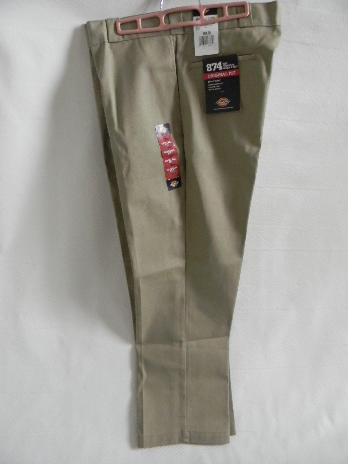 NWT Dickies Tan 874 The Original Work Pant, Size 38 X 30 - $23.99