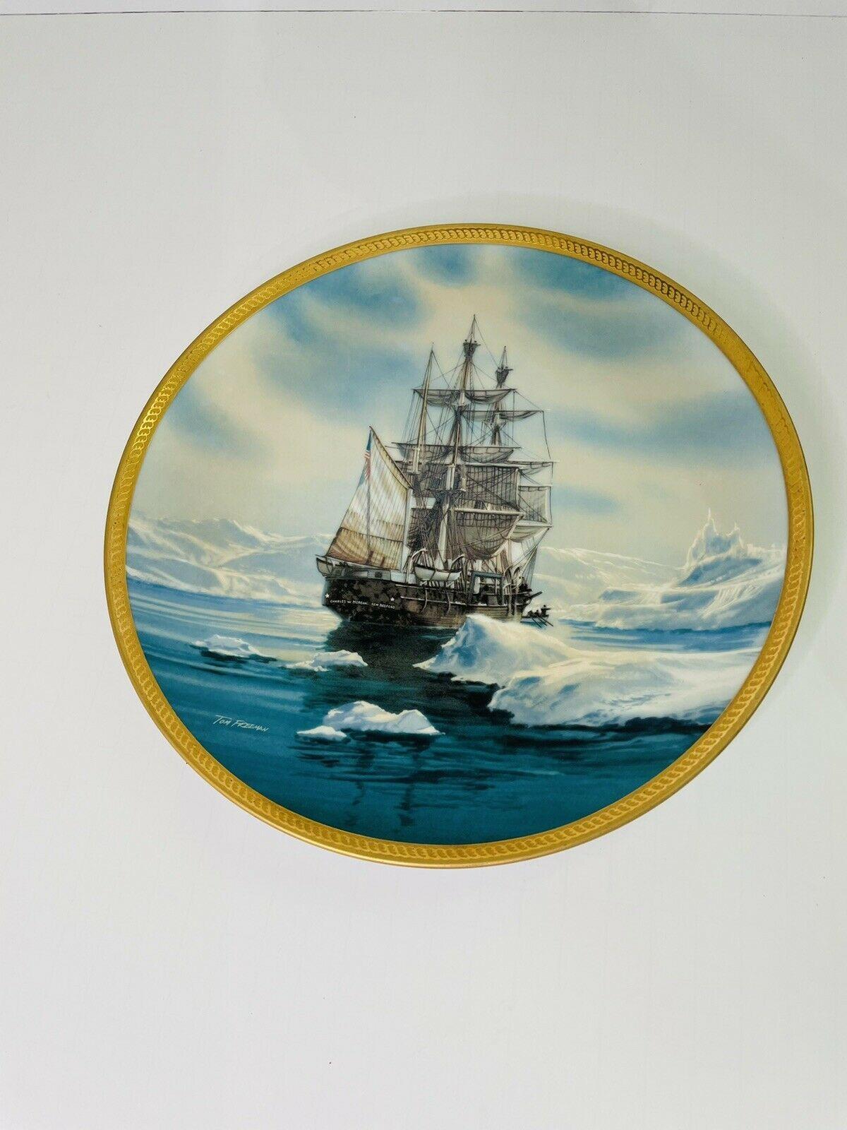 Charles W Morgan Hamilton Collection Plate 1987 - $29.67