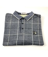 Victoria National Golf Club Made in USA Men's Large Polo Shirt Navy Blue... - $12.85