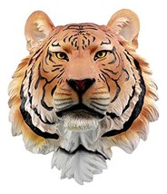 "Ebros Gift Large Orange Bengal Tiger Head Wall Decor Plaque 16""Tall Taxi... - $44.99"