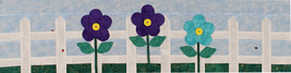 Row by Row 2016 Floral Applique Quilt Pattern Sold by the Pattern (M405.... - $3.50