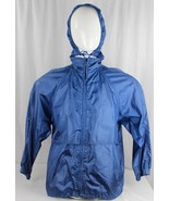 Vintage Eddie Bauer womens coats outdoor outfitter light weight rain blu... - $19.89