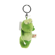 NICI Chameleon Dangling Key Chain Stuffed Toy Beanbag 4 inches 10 cm - $11.00