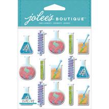 Jolee's Mini Repeats Stickers-Beakers & Test Tubes - $10.53