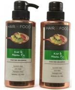 2 Bottles Hair Food Kiwi & Mission Fig Sulfate Dye Free Volume Shampoo 1... - $17.99