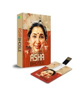 Music Card: Asha Bhosle - 320 Kbps Mp3 Audio 4 GB [USB Memory Stick] Ash... - $14.84