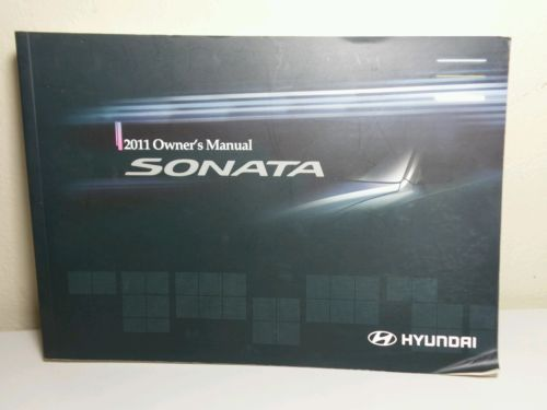 2011 Hyundai Sonata Owner's Manual