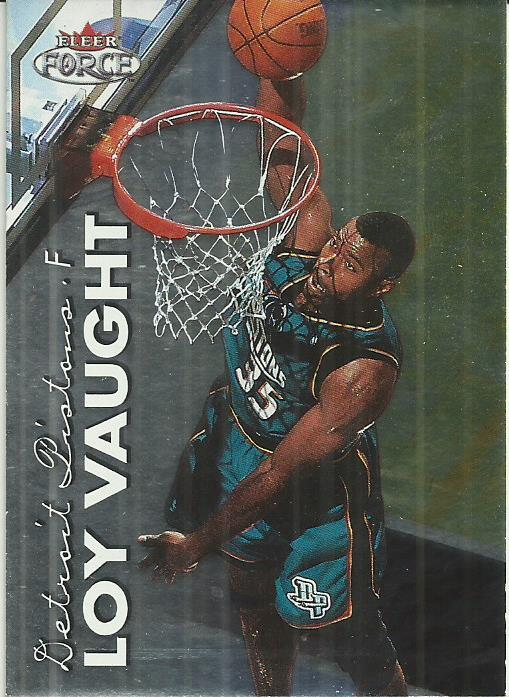 Primary image for 1999-00 Fleer Force #168 Loy Vaught