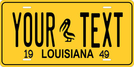 Louisiana 1949 License Plate Personalized Custom Car Bike Motorcycle Moped Tag - $10.99+