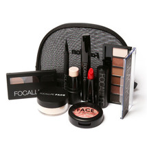 Makup Tool Kit 8 PCS Must Have Cosmetics Including Eyeshadow Lipstick Wi... - $544,80 MXN