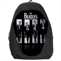 backpack beatle paul ringo lennon george harrison cult rock band school bag - $39.79