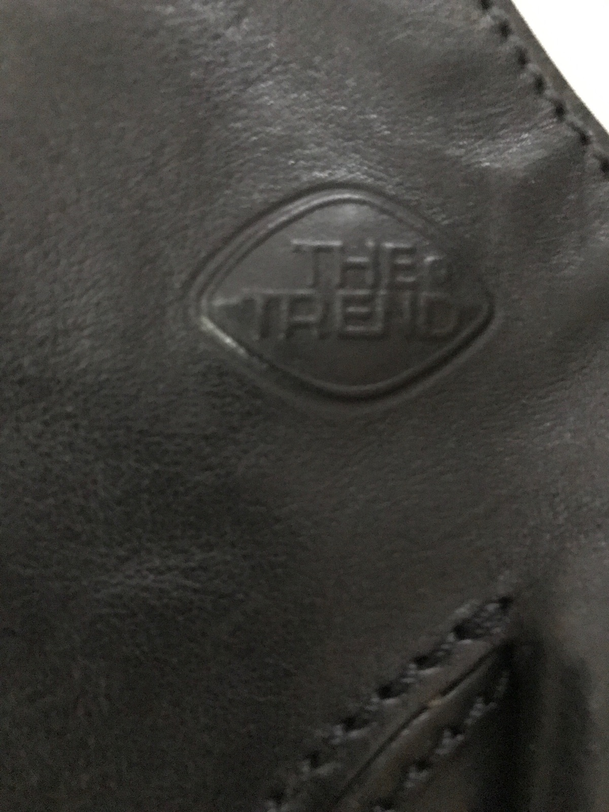 The Trend Women's Leather Purse And Chainge Purse Made in Italy
