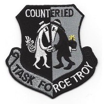 US Army Task Force Troy Counter Improvised Explossive Device Patch OIF O... - $11.87