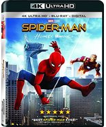 Spider-Man: Homecoming (4K Ultra HD + Blu-ray) (2017)  - $11.96
