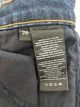 new J BRAND women jeans Jasper Patched JB001098 high rise crop 26 blue MSRP $298 image 11