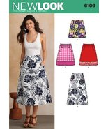 New Look U06106A Misses Skirts Sewing Pattern - $9.31