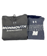 Monmouth Hawks Men's Under Armour Lot Size Small 2 Pcs. Hoodie & T-Shirt - $29.69